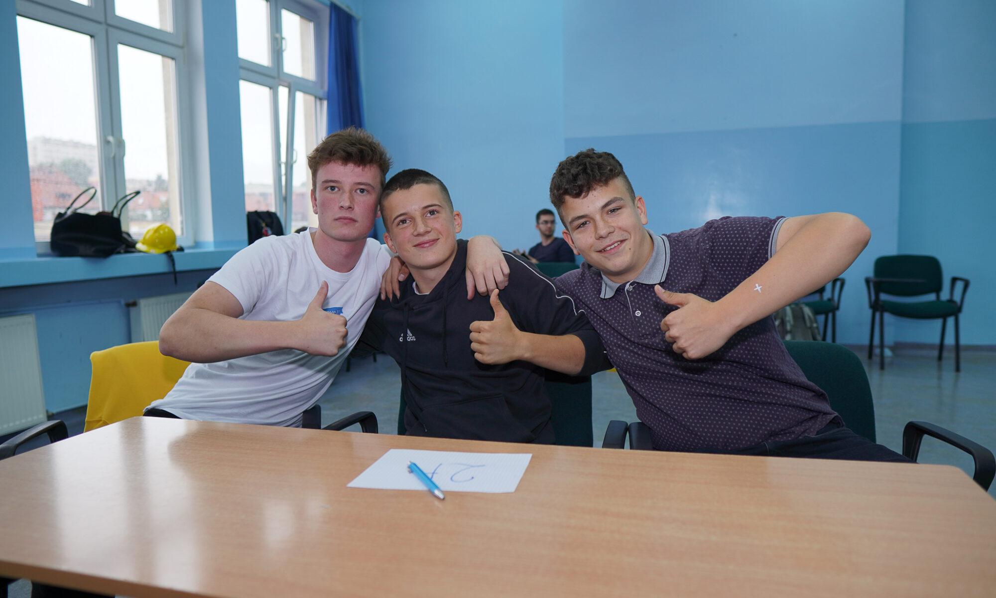 Zajęcia uczniów ZST w Kłodzku