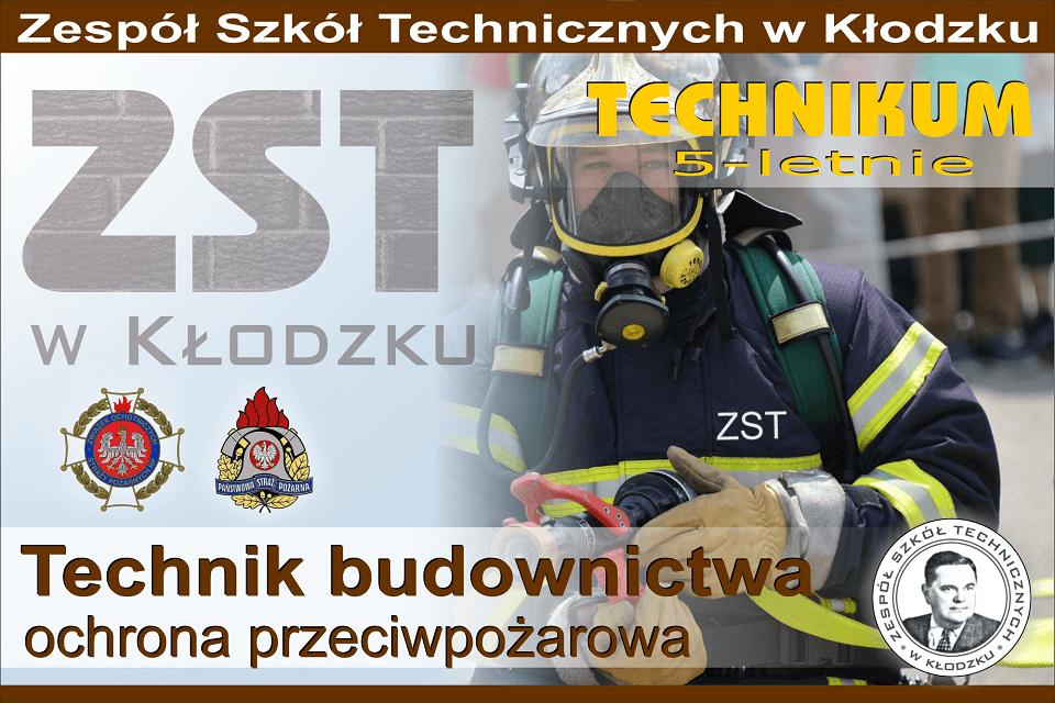 Technik budownictwa (profil strażacki)